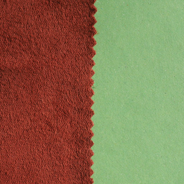 """""""brown fabric swatch sample"""" stock image"""