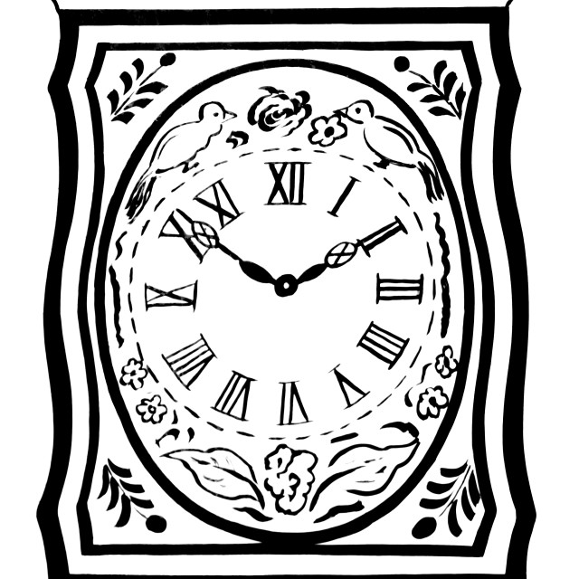 """""""Old Clock Face"""" stock image"""