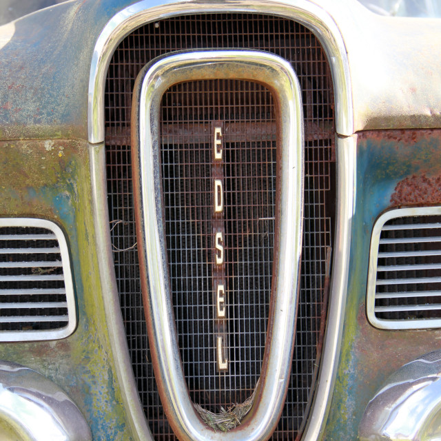 """""""Edsel Grill"""" stock image"""