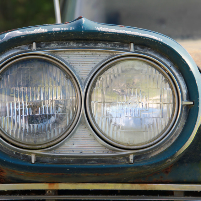 """Edsel Headlights"" stock image"