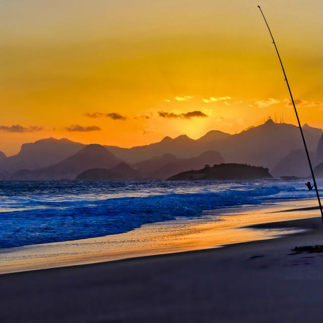 """Fishing Illusions"" stock image"