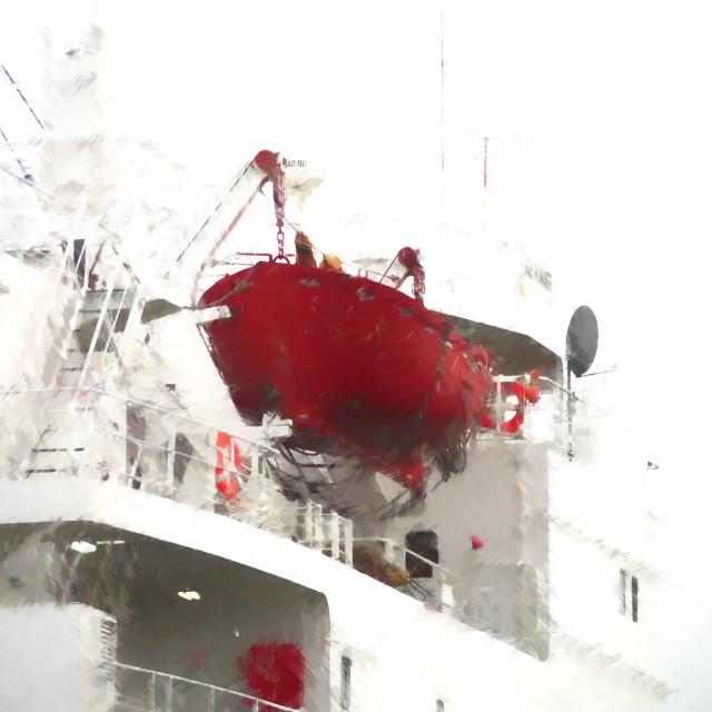 """Lifeboat"" stock image"
