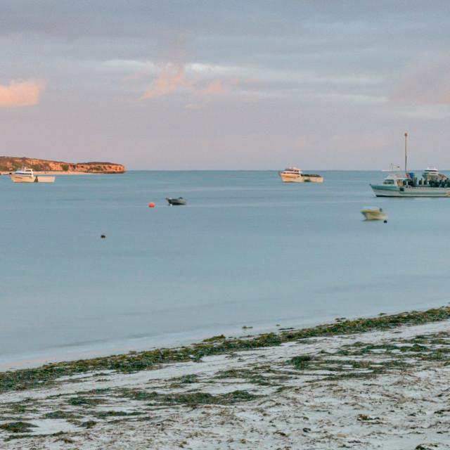 """Ocean view at Lancelin, Western Australiaa"" stock image"
