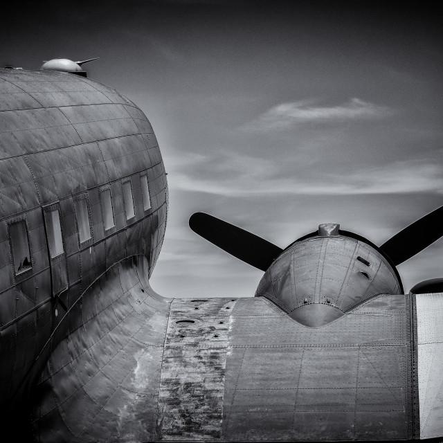 """Vintage Airplane"" stock image"