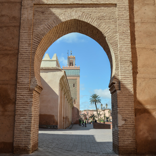 """""""Moroccan Mosque"""" stock image"""