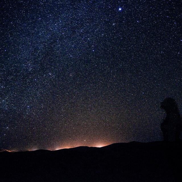 """Sahara Sky"" stock image"