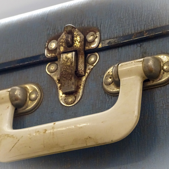 """Old suitcase"" stock image"