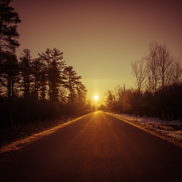 """""""First Light"""" stock image"""