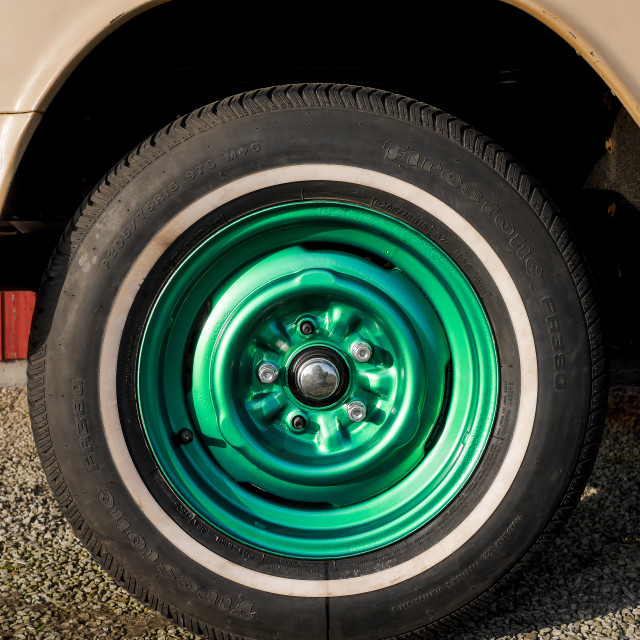 """""""Wheels on fire"""" stock image"""