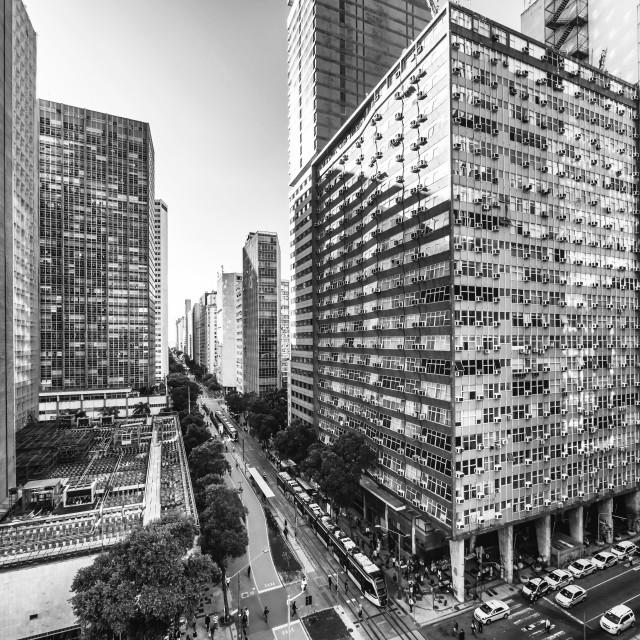 """""""Downtown Rio de Janeiro"""" stock image"""