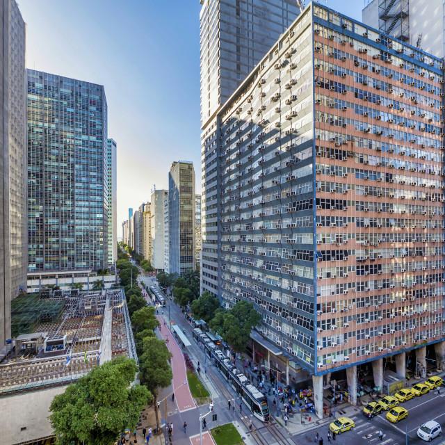 """""""Rio de Janeiro Financial Center"""" stock image"""