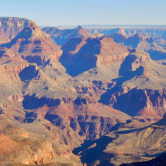 """""""Expansive Grand Canyon Beauty"""" stock image"""
