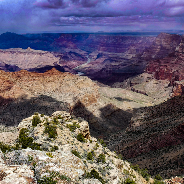 """GRAND CANYON F"" stock image"
