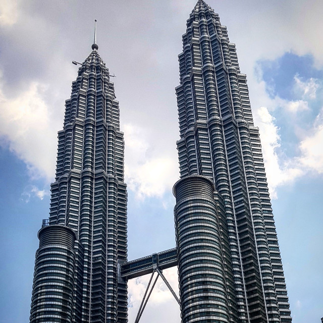 """The Famous Petronas Twin Towers"" stock image"