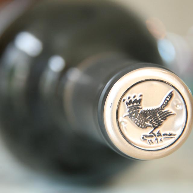 """Bottle top logo"" stock image"