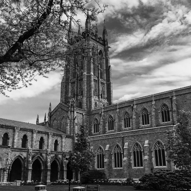"""""""Bryn Athyn Cathedral"""" stock image"""