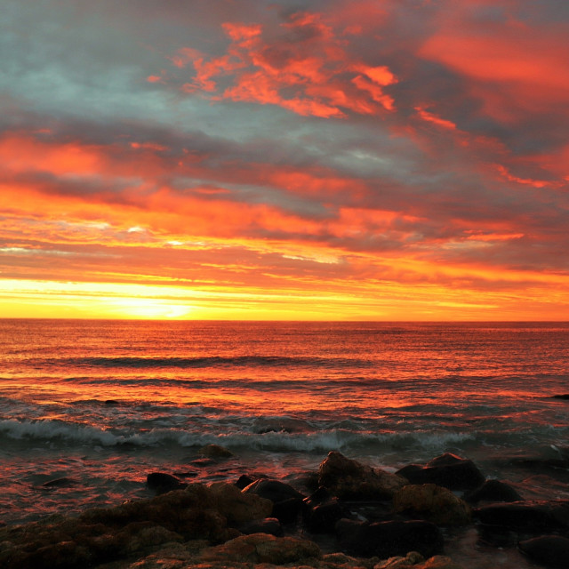 """Tumby Bay Sunrise"" stock image"