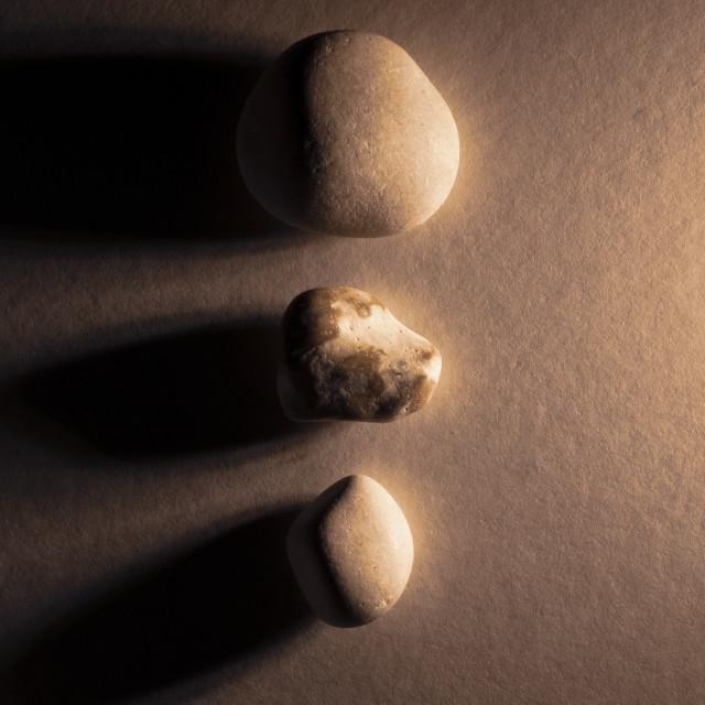 """""""3 Stones"""" stock image"""