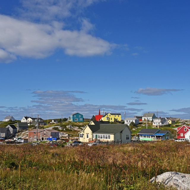 """Peggy's Cove"" stock image"
