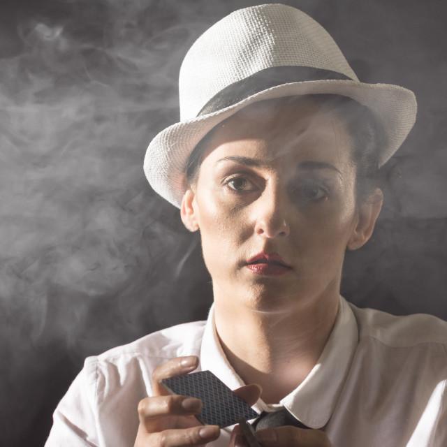 """Smokey Color"" stock image"