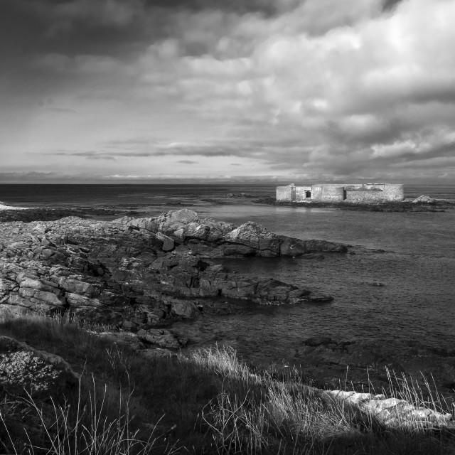 """Alderney seascape"" stock image"
