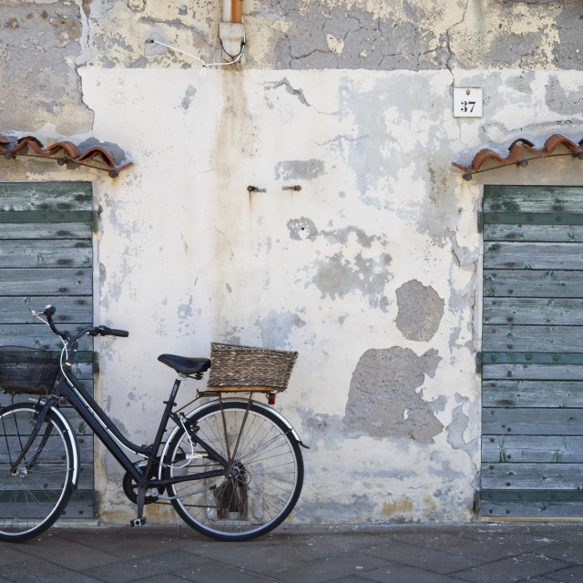 """Doors of Alghero"" stock image"