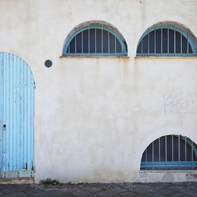 """""""Alghero City Pareidolia"""" stock image"""