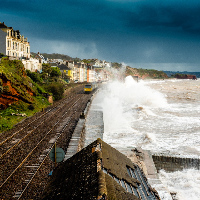 """Dawlish"" stock image"