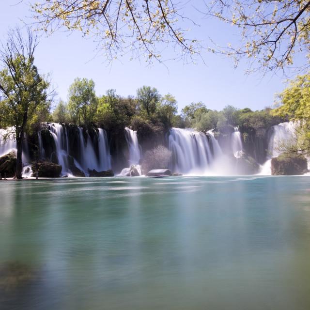 """""""Kravica Waterfalls in Bosnia Herzegovina"""" stock image"""