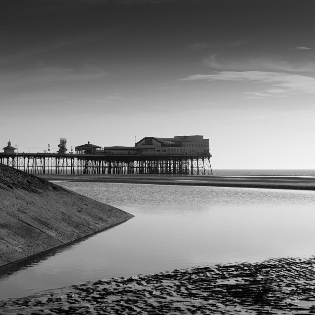"""North Pier, Blackpool"" stock image"