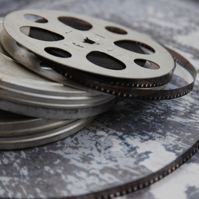 """Film reels"" stock image"
