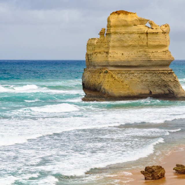 """""""Limestone stack - Port Campbell"""" stock image"""