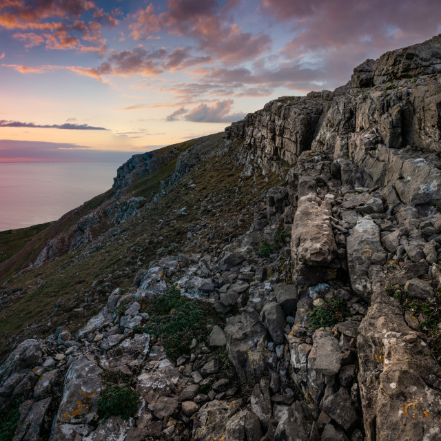 """The Great Orme, LLandudno, North Wales."" stock image"