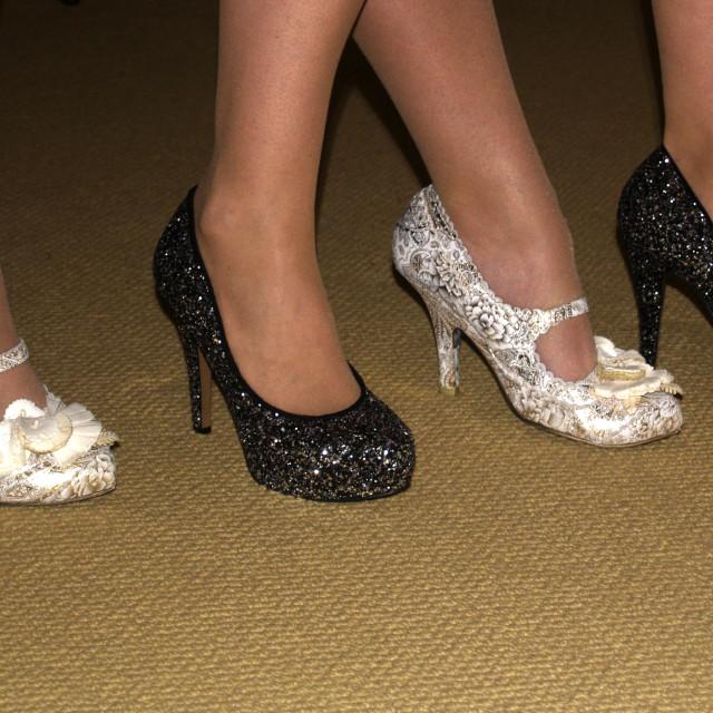 """Legs & High Heels"" stock image"