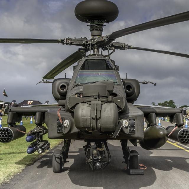"""""""Apache Longbow"""" stock image"""