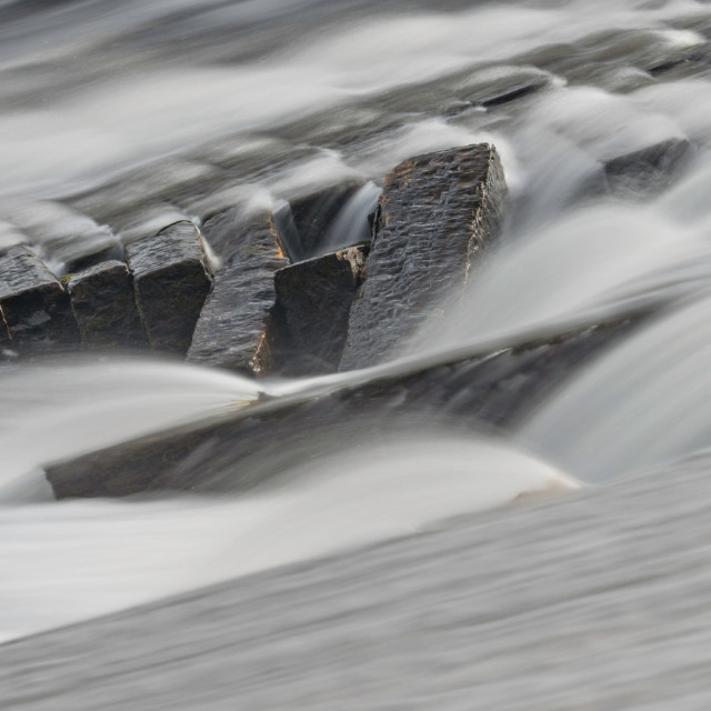 """""""Weir details"""" stock image"""