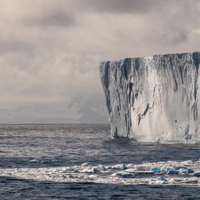 """Tabular Iceberg"" stock image"