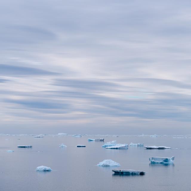 """""""Iceberg landscape"""" stock image"""