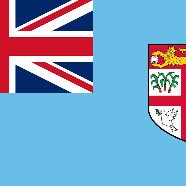 """Flag of Fiji"" stock image"