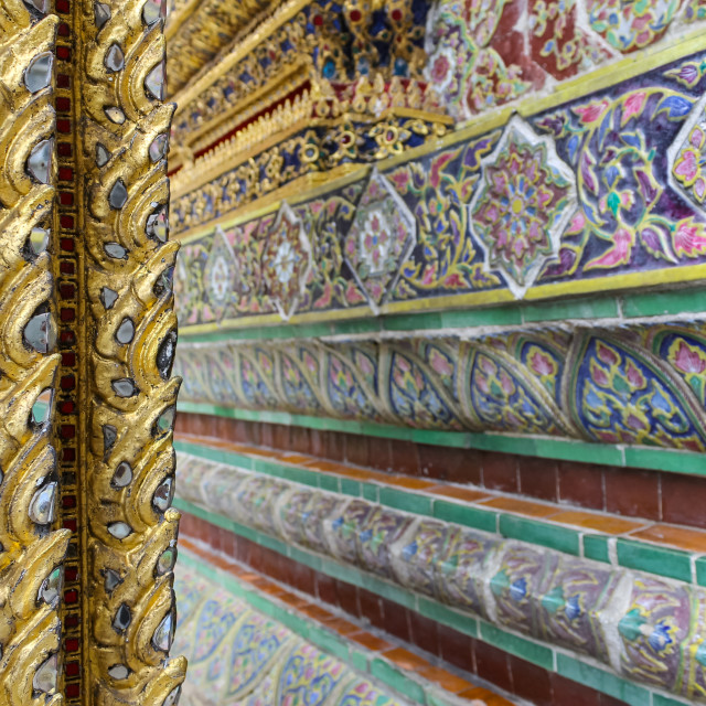 """""""Close up of the beauitful mosaic tiles"""" stock image"""