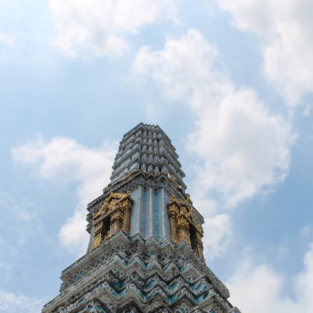 """Impression of the Royal Palace in Bangkok, Thailand."" stock image"
