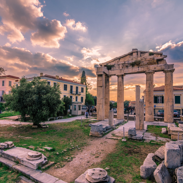 """Ancient Athens"" stock image"