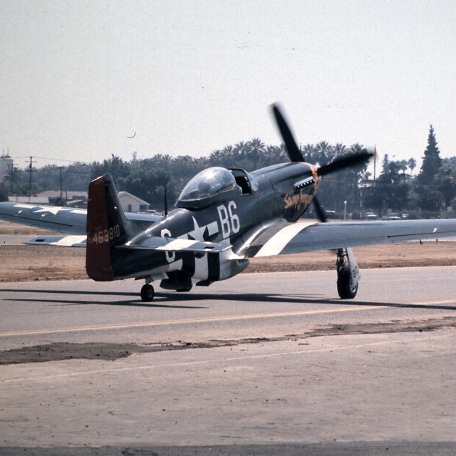 """NA P-51D"" stock image"