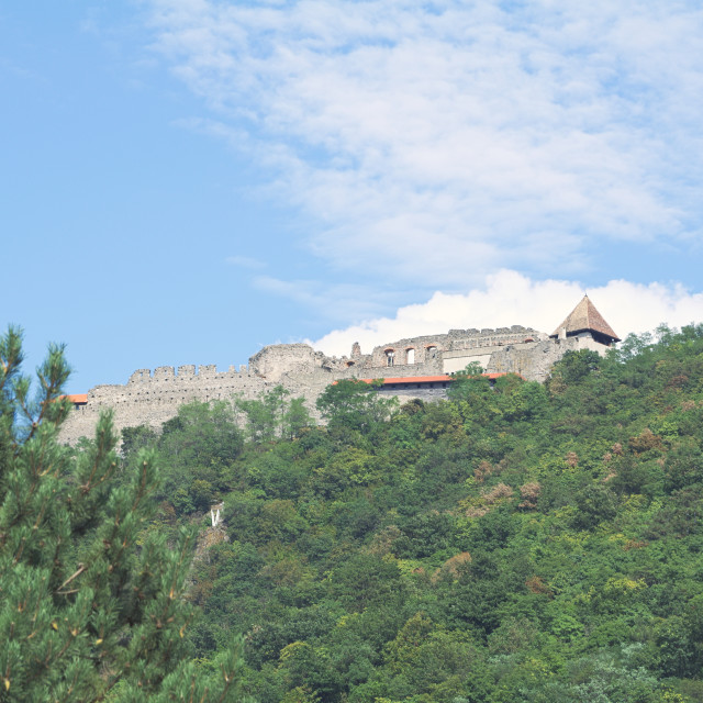 """Visegrad Castle Closeup"" stock image"