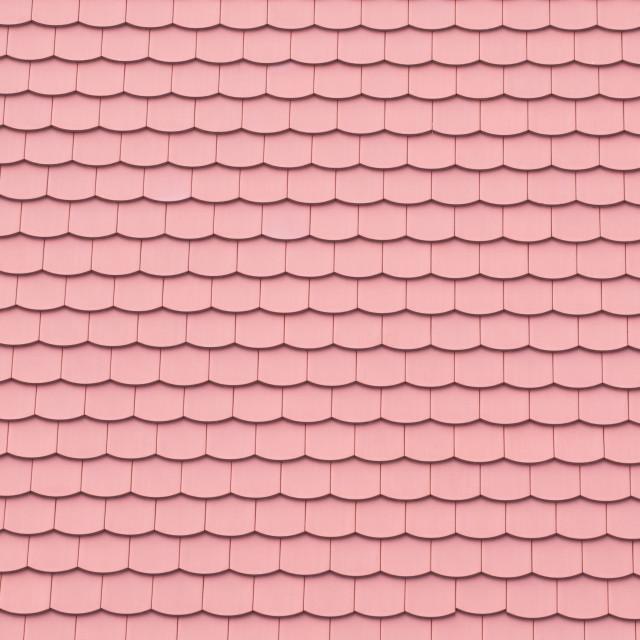 """Tiled Roof Closeup"" stock image"