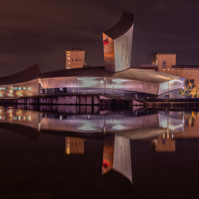 """Imperial War Museum, Manchester, UK"" stock image"