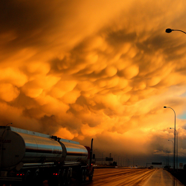 """Monster storm cloud"" stock image"