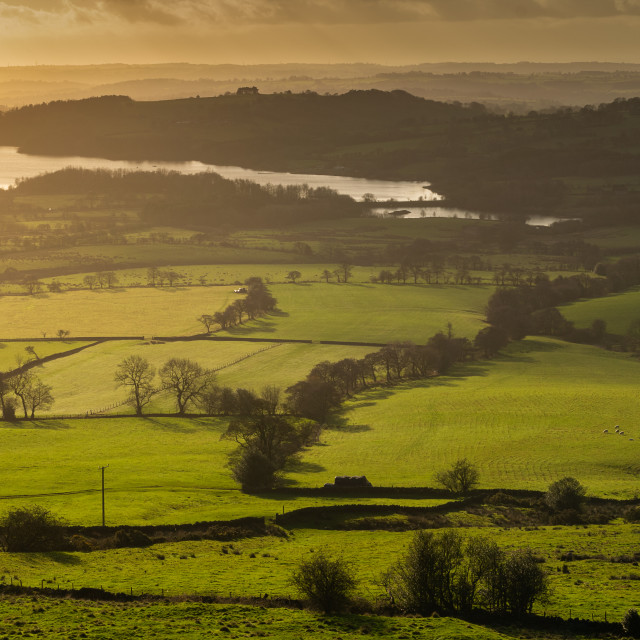 """Tittesworth Reservoir near Leek, Staffordshire"" stock image"