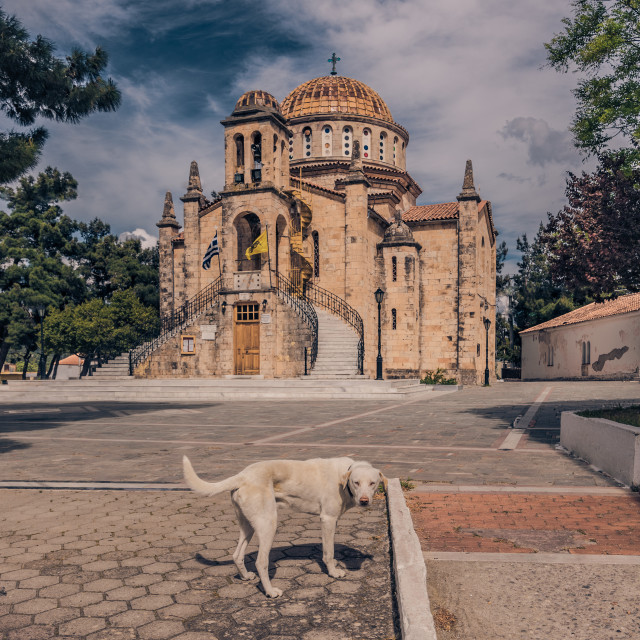 """Vilia, Greece."" stock image"