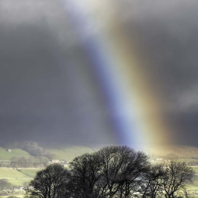 """""""Buttersett Rainbow"""" stock image"""